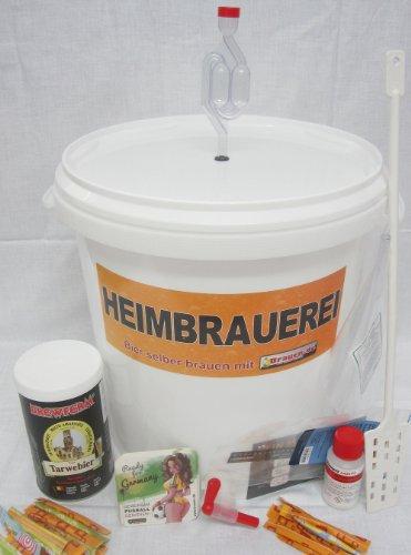 Bierbrauset Weizen - Weizenbier selber brauen (15 Liter) -Ideal für Brauset Anfänger oder als Bier Geschenk, inklusive Brauanleitung