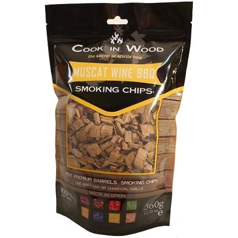 Cook in Wood - Frammenti di legno affumicato all'aroma di moscato
