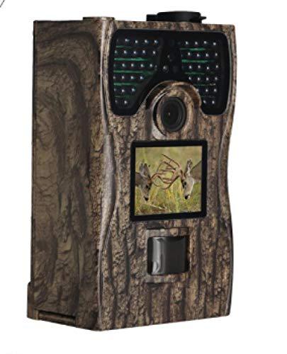 Hinterkamera 12MP 1080P, Outdoor-Wildlife-Jagd-Kamera 0,2 s Auslösezeit Bewegungsaktivierung, PIR-Winkel 110 °, Infrarot-Nachtsicht 15 Meter. Design für Wildlife-Jagd und Home Security