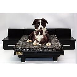 Cama para mascotas - perros y gatos Maxi Negro