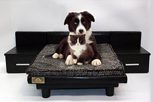 MAXI NEGRO Cama para Mascotas - Perros y Gatos