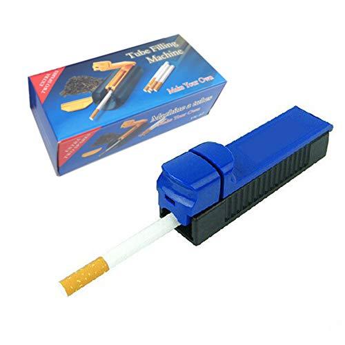 Kungfu Mall Zigarettenrollmaschine, manuelle Zigarettenrollrohr-Tabakhersteller-Rohr-Füllmaschine - Rollentabak-Injektor/Füller - Abdeckungen Mit Objektträger