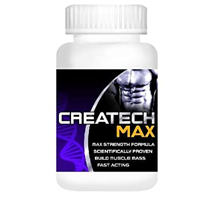 Creatine Createch Max Protein Supplement GET RIPPED Muscle Growth BodyBuilding , (1 month supply) , how can i get 6 packs by www.YouLookSlim.co.uk