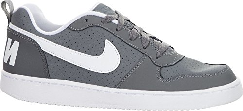Nike Jungen Court Borough Low (Gs) Basketballschuhe, Grau (Cool Grey/white), 37.5 EU (Nike Schuhe High Tops Jungen)