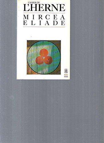 Cahier de l'Herne Mircea Eliade