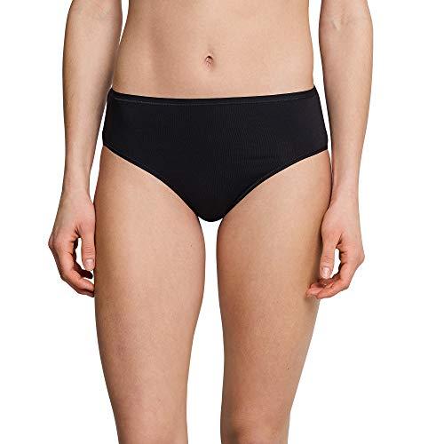 SCHIESSER 3 er Pack Slips COTTON Essentials schwarz, Farbe:schwarz;Grösse:3XL / 46 -