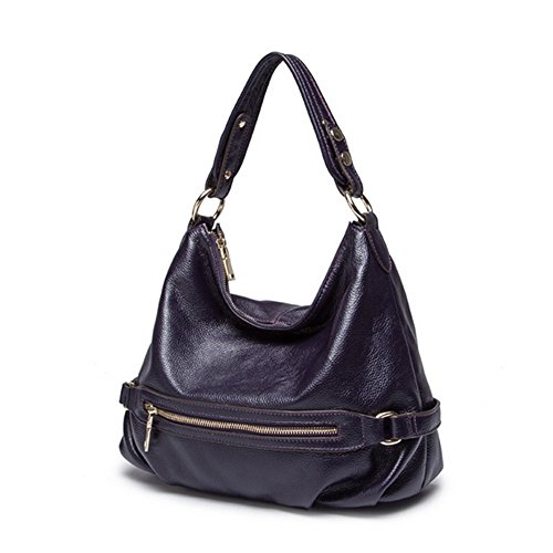 Eysee, Borsa tote donna rosa Brown 32cm*28cm*15cm Dark purple
