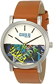 Gully by Timex Graffiti Analog White Dial Men's Watch-TWGYG