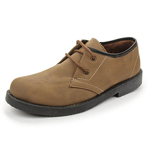 BACCA BUCCI MEN BROWN PU BOOTS 09 UK  available at amazon for Rs.599