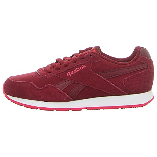 Reebok Damen Royal Glide Fitnessschuhe, Mehrfarbig (Rustic Wine/Rugged Rose/White 000), 38.5 EU