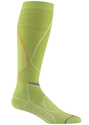 Wigwam Damen Snow Tahoe Socken, Limon, Size UK 5-8/EU 37-42