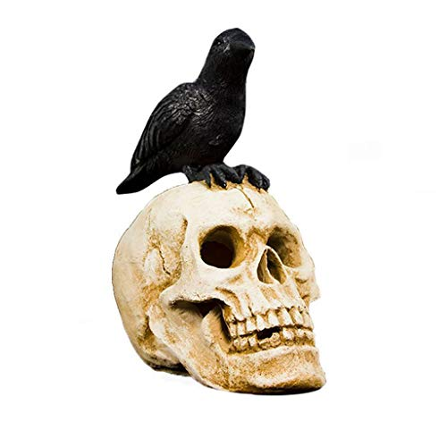 Raven Crow Kostüm - LuohuiFang Novelty Party Props Gift -