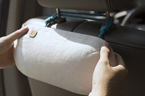 PURGGO natürlicher Auto Lufterfrischer / Luftreiniger / Luftentfeuchter - ohne Parfüm & Duftstoff - Hält 365+ Tage - Hergestellt aus 100% Bambuskohle (400g)