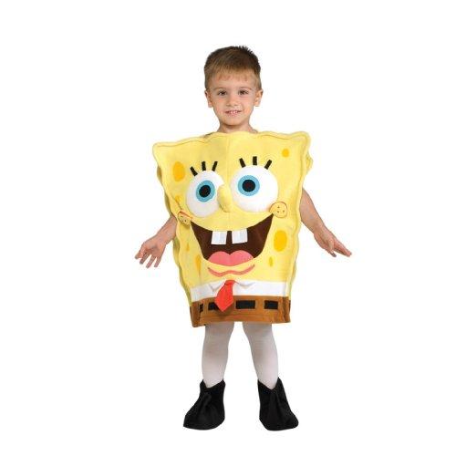 ; Co 33190 SpongeBob Schwammkopf SpongeBob Deluxe Kinderkost-m Gr--e Medium-Boys 8-10 (Kinder Spongebob Schwammkopf Kostüme)