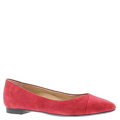 Vionic Caballo ballerine da donna, Rosso (Red), 43 1/3