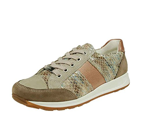 Ara Sneaker Taupe Fossil