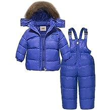 e66320f59122 ZOEREA Unisex Piumino Bambino Invernale Tuta da sci per bambino Giacca  Bambina Snowsuit Snowboard Piumino leggero