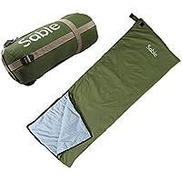 Sable Sac de Couchage Rectangulaire pour Trekking, Camping, Randonnée, Escalade & Activités en Extérieur