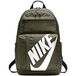 Nike Nk Elmntl Bkpk Mochila, Unisex Adultos, (Olive Canvas/Black / W), 15x24x45 cm H x L