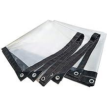 Lonas Lona Alquitranada Lona Impermeable Transparente/Lona Impermeable Transparente Resistente A La Lluvia Plástico para