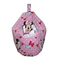 Minnie Mouse Café Girls Filled Childrens Kids Bean Bag New