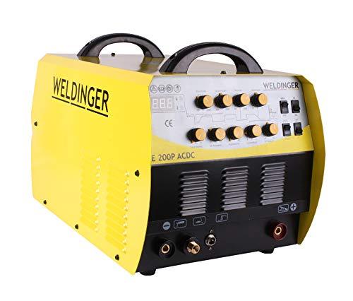 Weldinger WIG-Schweißgerät Inverter WE 200P AC/DC - 2