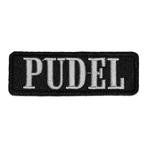 Wechselbarer Patch Aufnäher Klett Pudel (Pudel-patch)