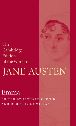 The Cambridge Edition of the Works of Jane Austen 9 Volume Hardback Set: Emma