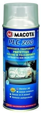 lgvelettronicasrl VERNICE SPRAY MACOTA PLC 200 RINNOVA FANALI RAVVIVANTE ANTI-INGIALLIMENTO ML200