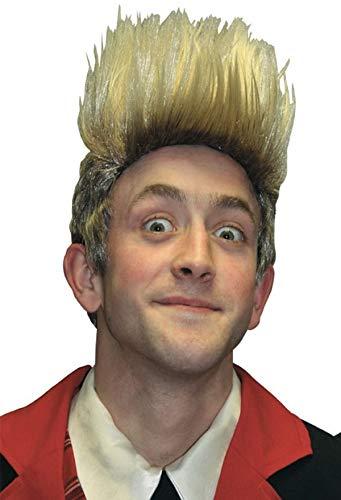Erwachsene Herren Blond Jedward Prominent Berühmt Person Kostüm Kleid Outfit (Berühmte Personen Kostüm)
