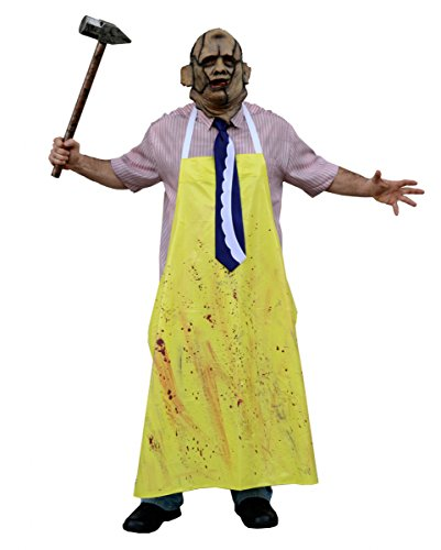 Texas Chainsaw Massacre Leatherface Kostüm für Halloween