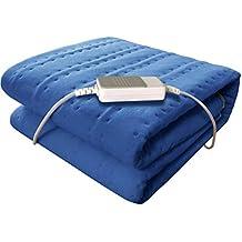 manta electrica doble mando grande cama pequeña sofa calienta camas electrico matrimonio mantas electricas para camas
