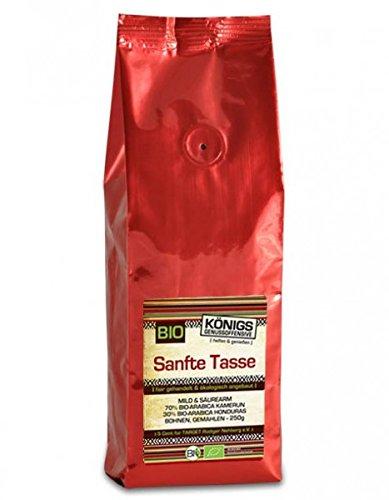 Sanfte Tasse milder Bio Kaffee 50 Gramm Probierportion gemahlen, Fairtrade Kaffee, schonende Langzeitröstung - Bremer Gewürzhandel