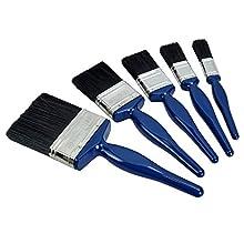 Faithfull PBUSET5 Utility Paint Brush Set (5 Pieces)