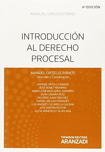 Introducción al Derecho Procesal (Manuales) por Alicia Armengot Vilaplana