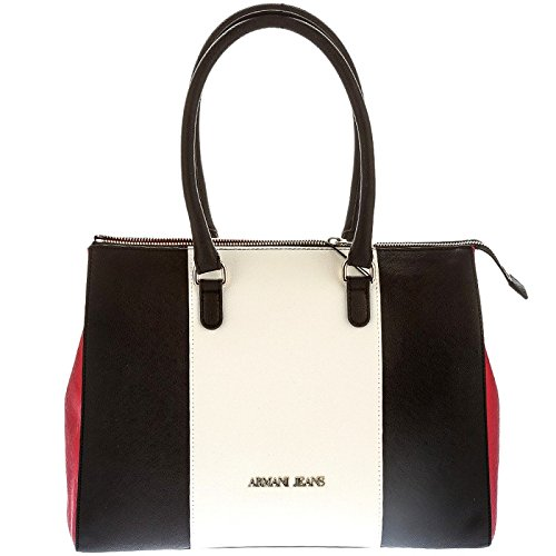 Giorgio Armani borsa shopping multicolor