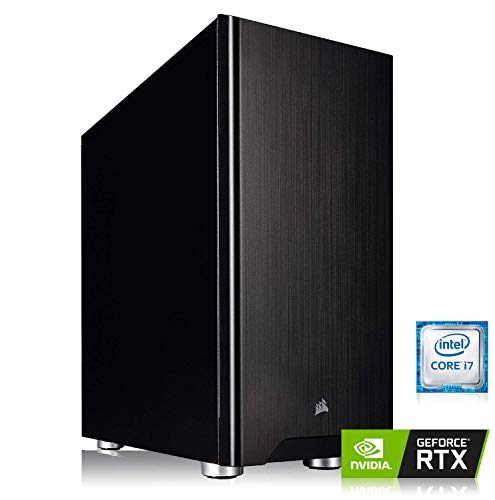 Memory PC High End Gaming PC Intel PC Core i7-9700K 8X 3.6GHz, ASUS Prime Z370-P, 32 GB DDR4 RAM, 500 GB M.2 970 EVO SSD + 4000 GB HDD, NVIDIA GeForce RTX 2080 Ti 11GB -