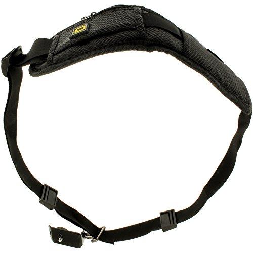 Optix Pro universeller Quick Hals Schulter Schlaufe Riemen Gürtel mit 1/4 Zoll Schraubengewinde für DSLR SLR Bridge Kameras & Videokameras (Canon, Nikon, Sony, Olympus, Pentax, Fujifilm)