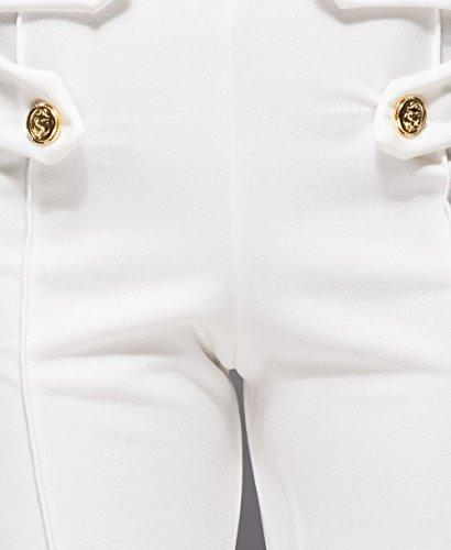 Momo&Ayat Fashions -  Pantaloni  - Pantaloni  - Donna Off white