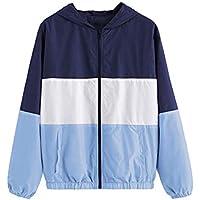 Geili Jacke Damen,Frauen Freizeitjacke Leichte Kapuzen Windjacke Outdoor Wandern Sweatshirt Hoodie Mantel Outwear... preisvergleich bei billige-tabletten.eu