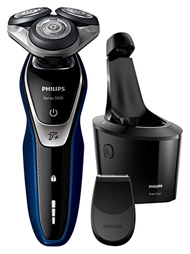 Philips Series 5000 S5572/10 Wet and Dry Men's Electric Shaver with Turbo Plus Mode and SmartClean Best Price and Cheapest