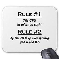 Rule CFO Mouse Pad