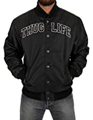 Thug Life Hombres Chaqueta de béisbol Basic