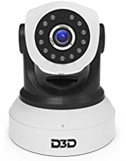 D3D D8809 HD 720P WiFi Home Security Camera Night Vision 36