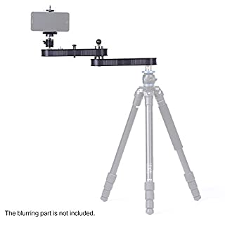 Andoer Camera Slider Rail Track Dolly with Panning and Linear Motion Extends Up to 4× Distance for GoPro Action Cameras / Smartphone / DSLR / ILDC Cameras' Video Recording