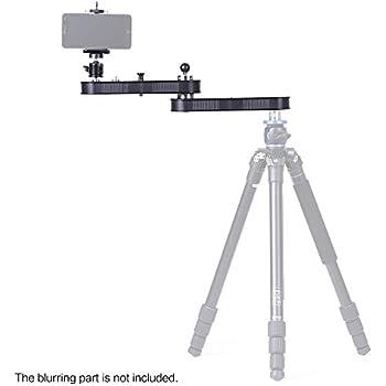 Andoer Andoer GT-V70 tragbare Kamera Slider mit Schwenk und Linear Motion Verlängert bis zu 4 × Entfernung für GoPro Action-Kameras / Smartphone / DSLR / ILDC Kameras Videoaufzeichnung