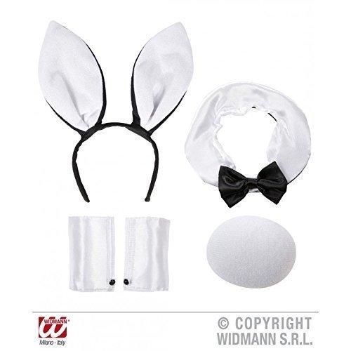 Ohren Bunny Und Schwanz (Sexy Hasen - Set für Bunny´s in schwarz)