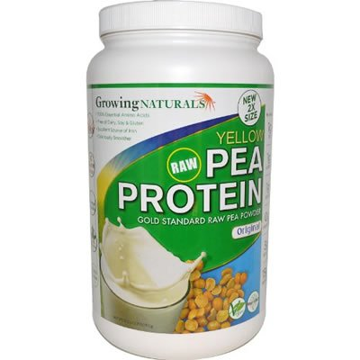 Raw Yellow Pea Protein Isolate Original - 912g