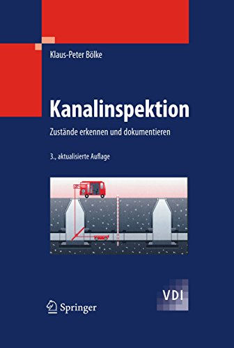 Kanalinspektion: Zustände erkennen und dokumentieren (VDI-Buch)