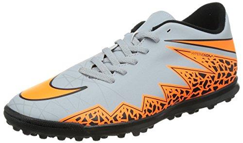 Nike Herren Hypervenom Phade Ii Fußballschuhe Grau (Wolf Grey/Total Orange-Blk-Blk 080)